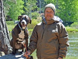 - Forrest, the owner and installer, is a dog lover and has been a carpenter for over 15 years. He shares his home with his wife and five senior rescue dogs.