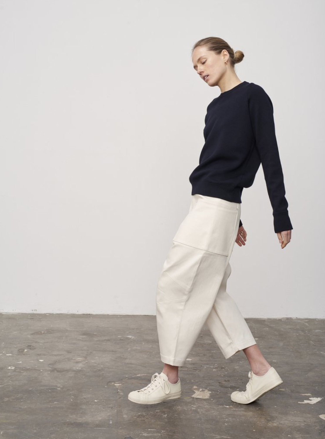 Canto Cropped pant in Denim