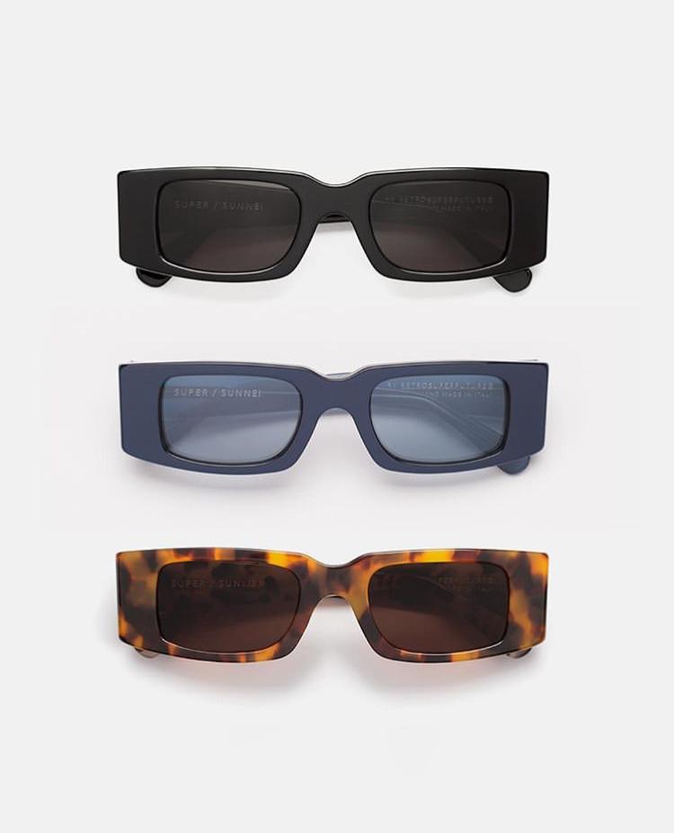 Super/Sunnei tri sunglasses