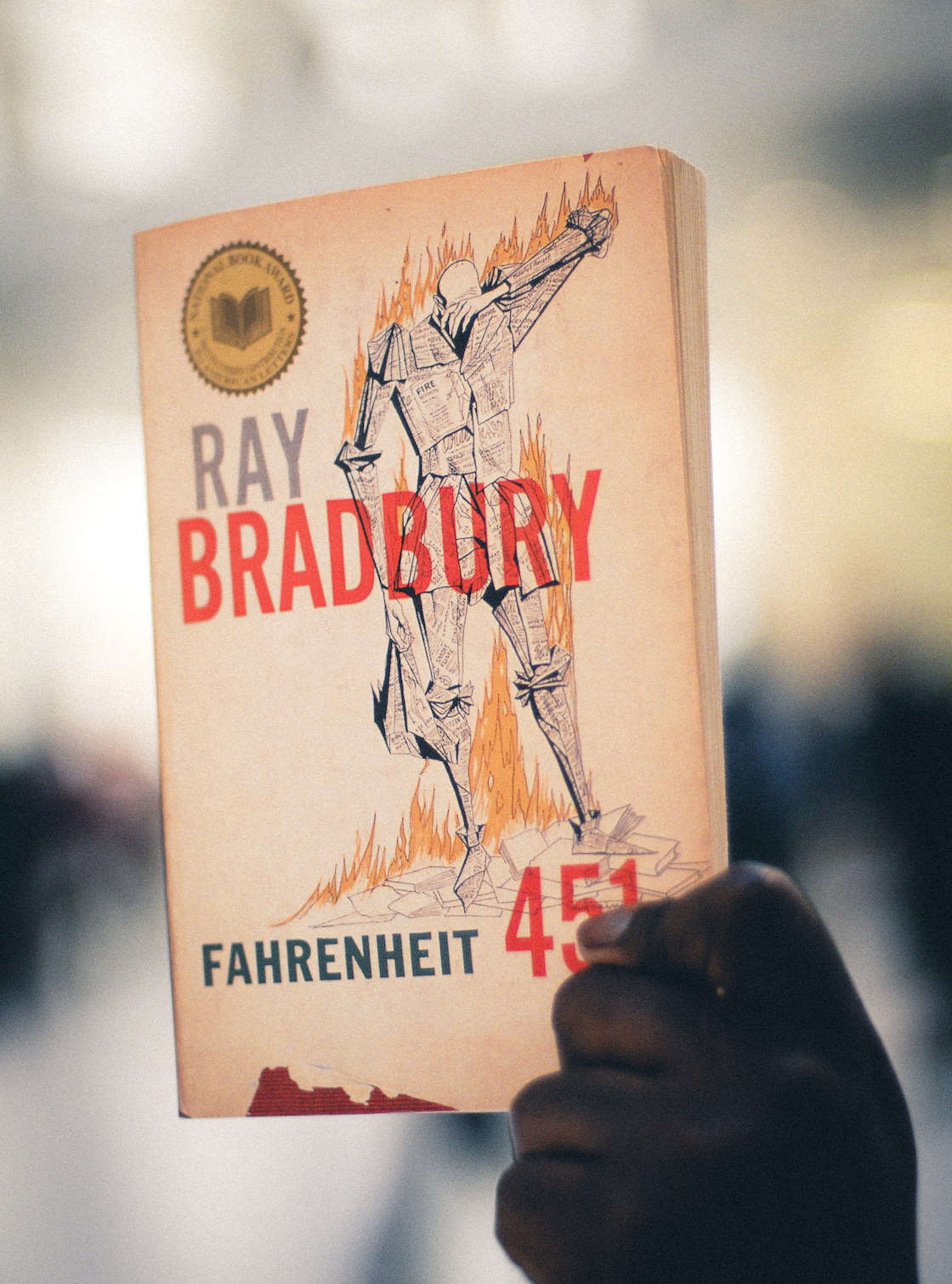 Fahrenheit 451- Ray Bradbury - 100x better than the movie adaptation starring Micheal B Jordan. This fictional read tells the story of the government-controlled