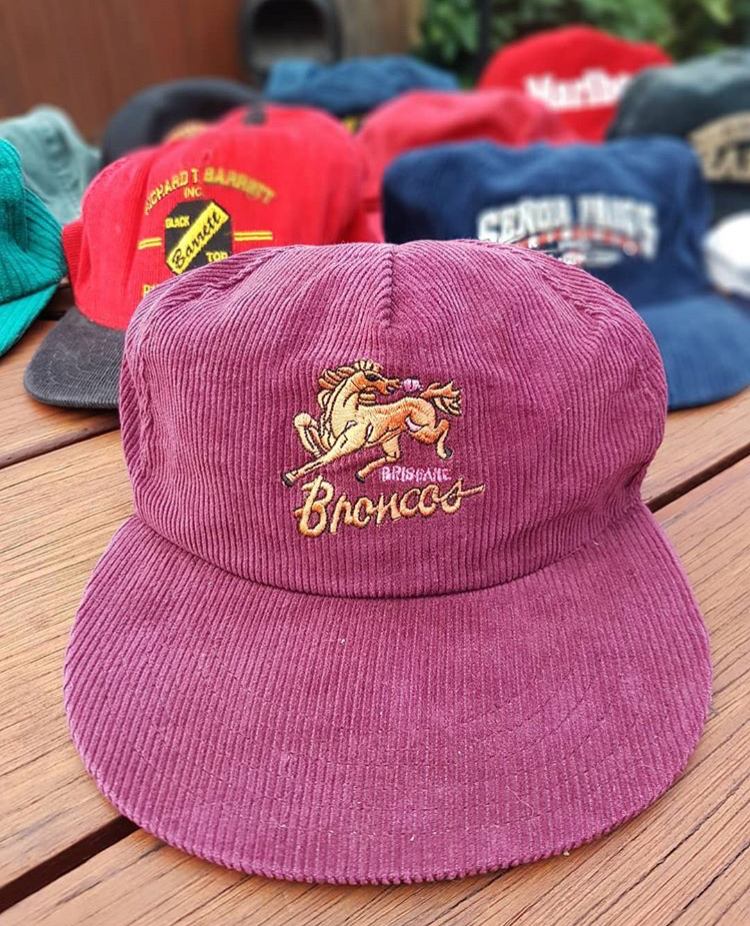 BRONCOS CORDUROY HAT - @filthy.finds