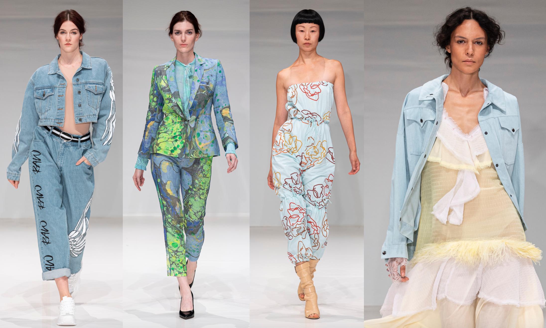 Left To Right:    Raw Jeans, Voussoir, Lexlo, Maria Barreca