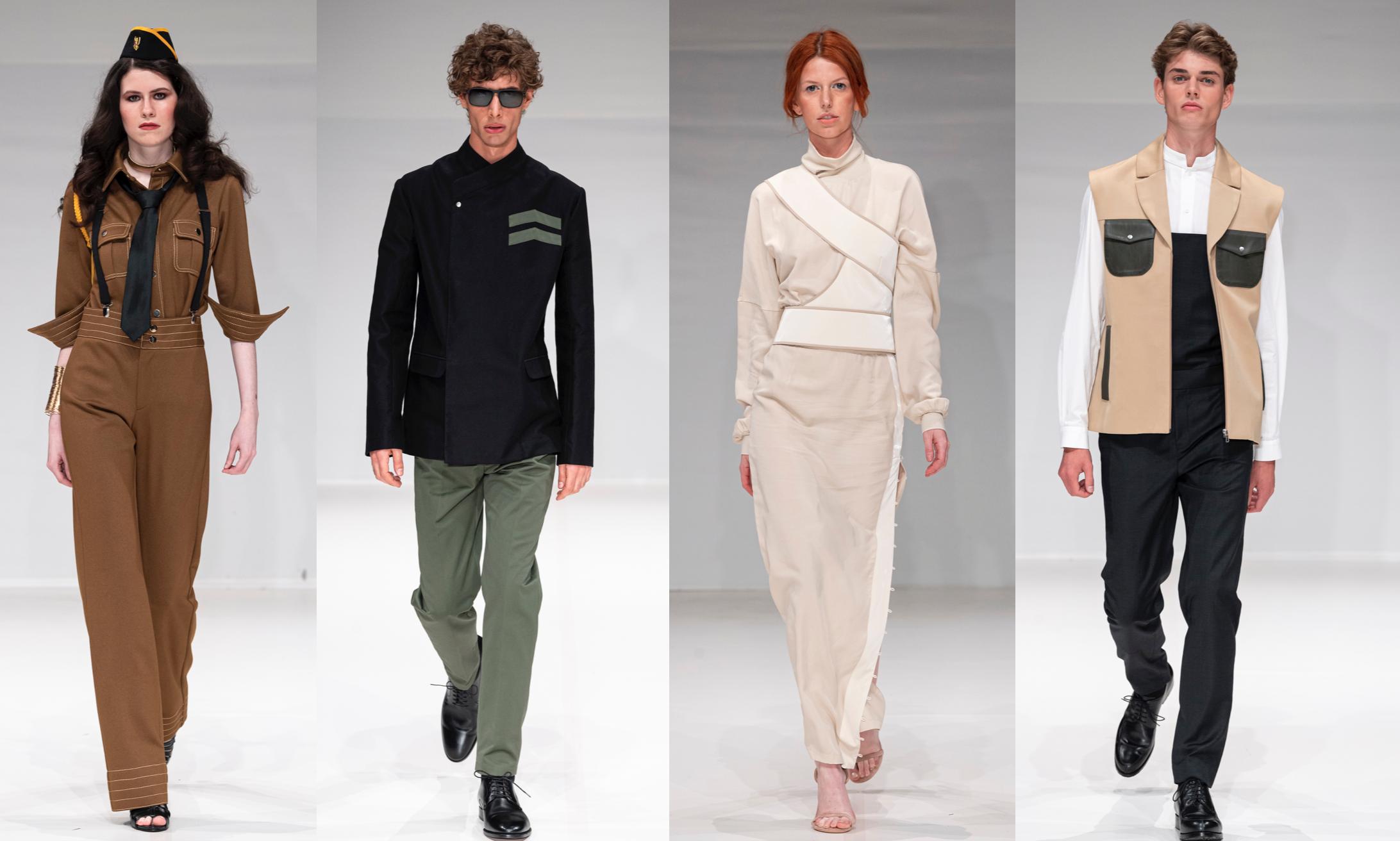 Left To Right:    Amaranthine Atelier, Leonie Mergen, Point Zero One, Voussoir