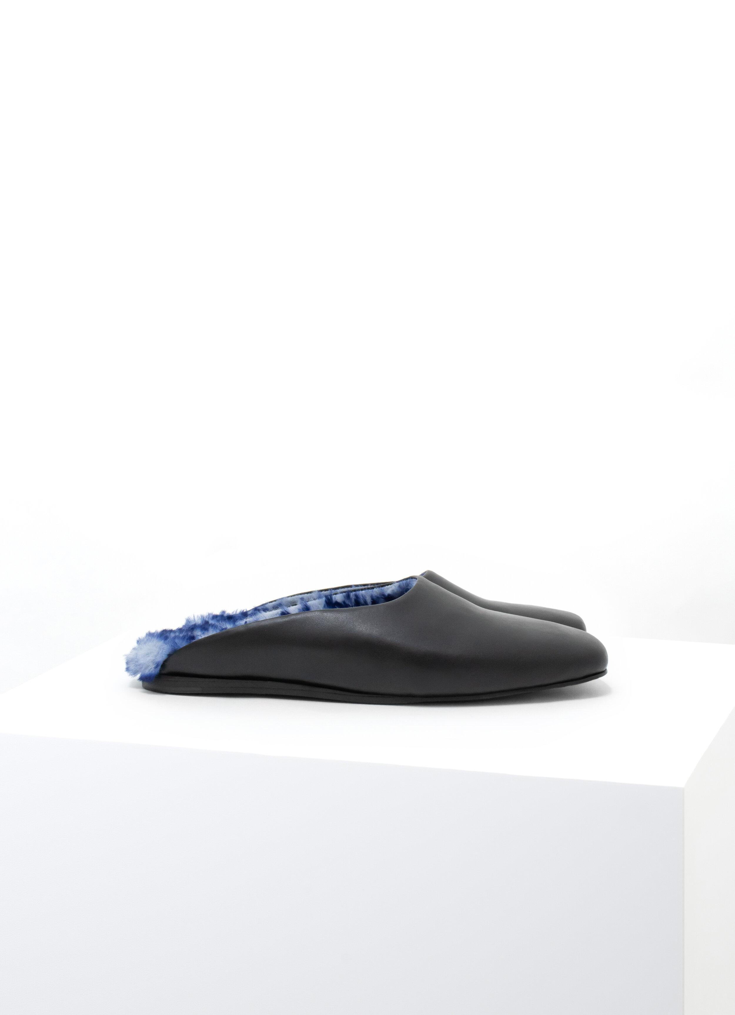 Square Toe Slide Faux-Fur Black.jpg
