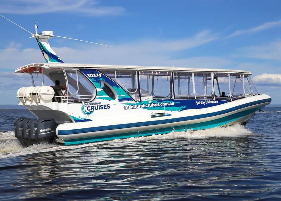 Mandurah Cruises - Experience Mandurah's waterways 1 hour, ½ day or full day marine adventures available.