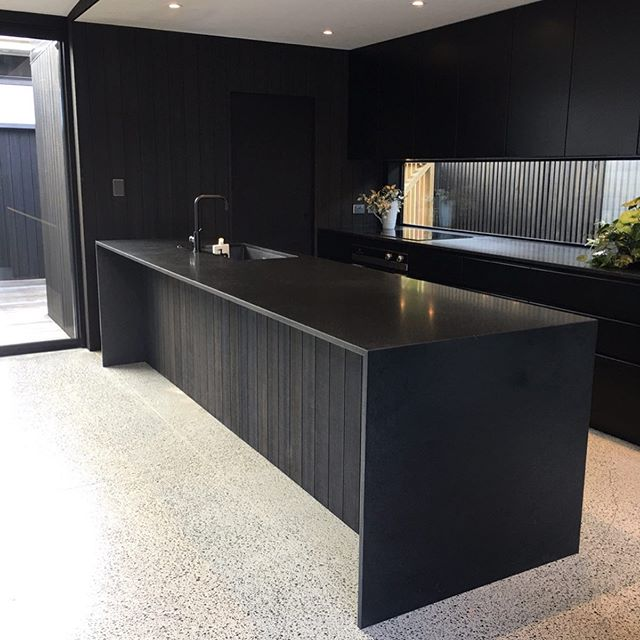 Westmere project complete! My guys Ben and Maa nailed it, and most importantly the owners are happy. . . . . . .  #detailing  #abodo #customised  #black #blacklovers #aluminium #moreblack #mitres