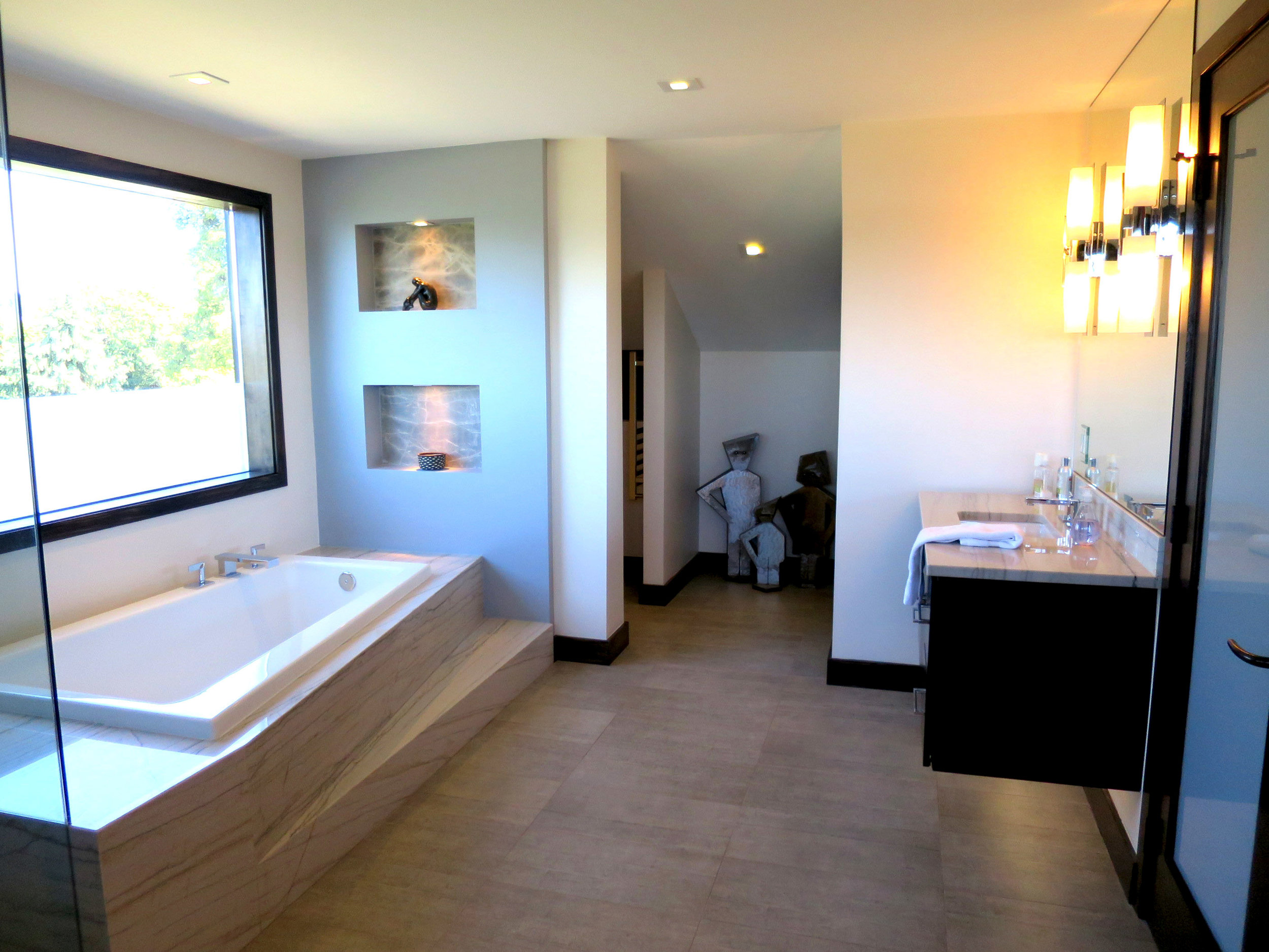 Luxurious Master Bathroom View 2