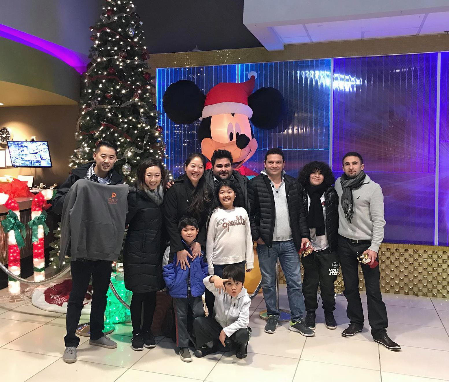 Christmas Team 2017
