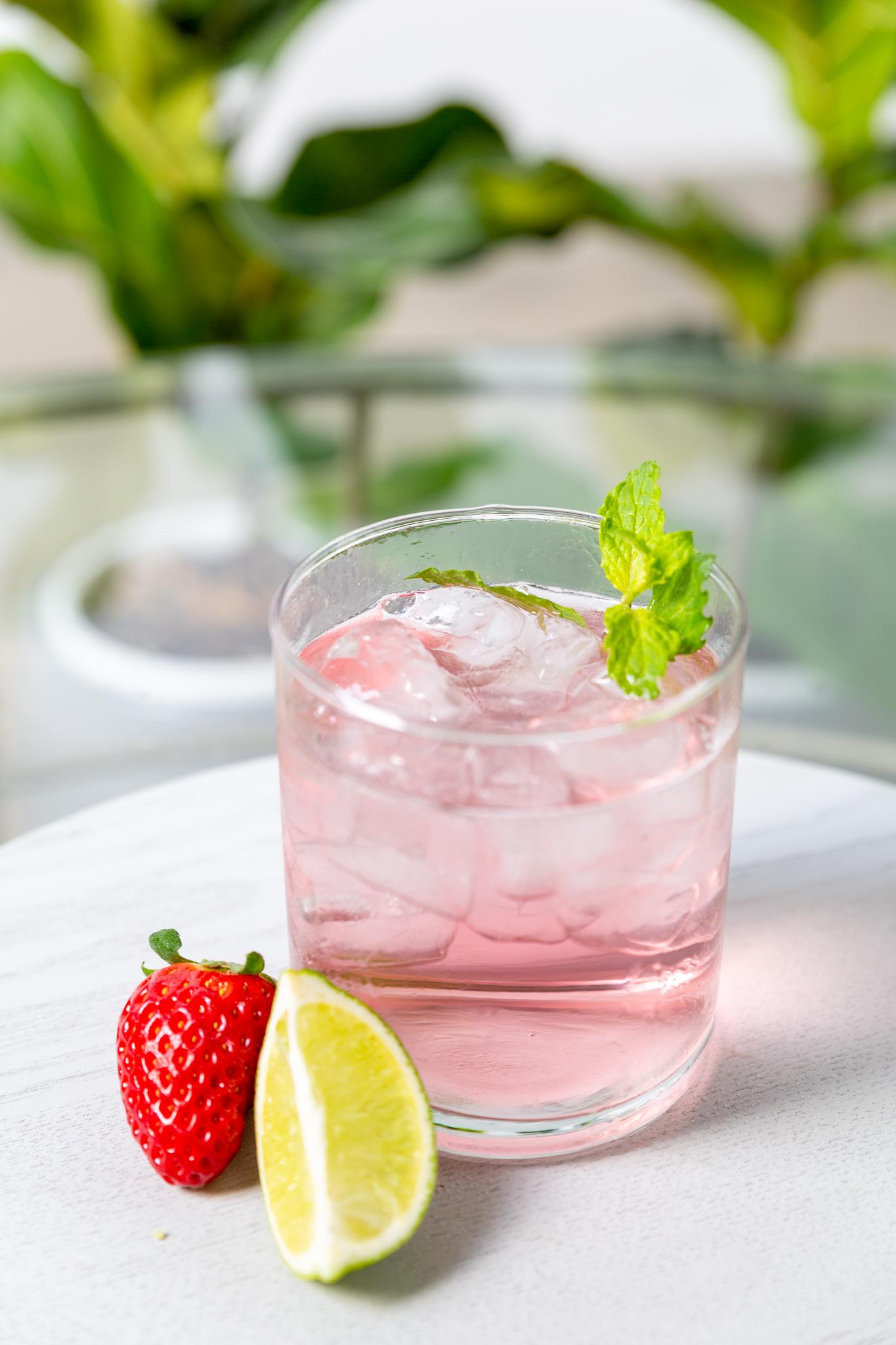 Fat Pixie Watermelon Cider In Glass