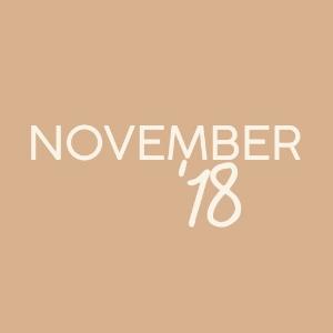 November '18