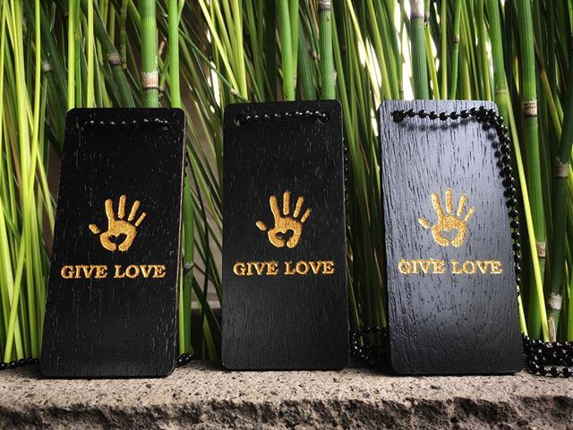 The best things to do with the best things in life is to give them away — Dorothy Day. . . .  JOIN THE MOVEMENT.  Go to www.giveloveproject.com WRITE - WEAR - SHARE