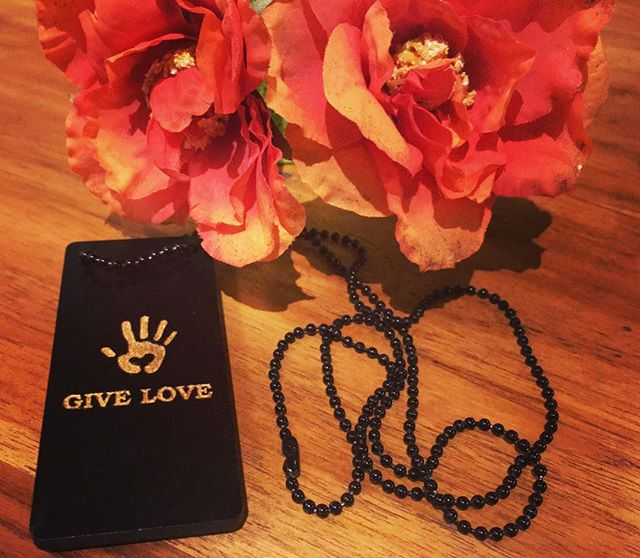 Some people give flowers. Some people buy cards. Some people give heartfelt letters that they have been wearing around their neck. . . .  JOIN THE MOVEMENT.  Go to www.giveloveproject.com WRITE - WEAR - SHARE