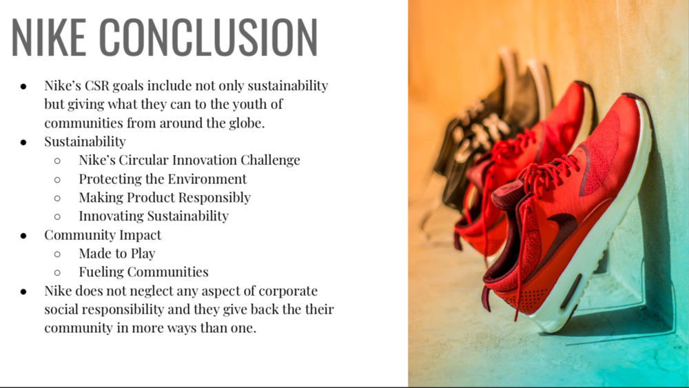 Explícito cuscús Guia  CSR: Nike vs. Adidas — Hannah Clauss