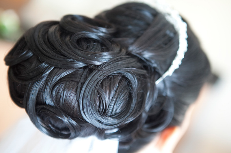 Bridal Hair - Wedding Upstyles Newcastle