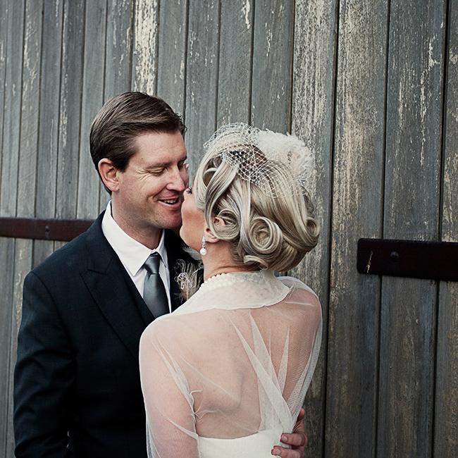 Vintage Wedding Hair Style Newcastle