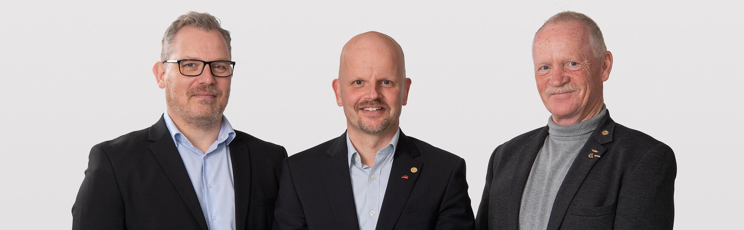 Thomas, Lars og Jens