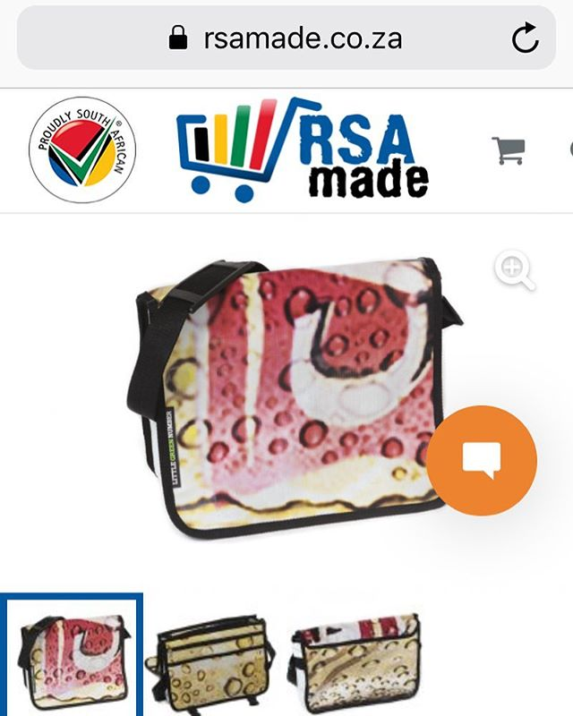 Did you know that @proudly.sa now has an online store? @rsa_made buy South African by South Africans! Little Green Number is also available on this awesome platform! #buylocal #proudlysa #proudlysouthafrican #rsamade #southafrica #upcycle