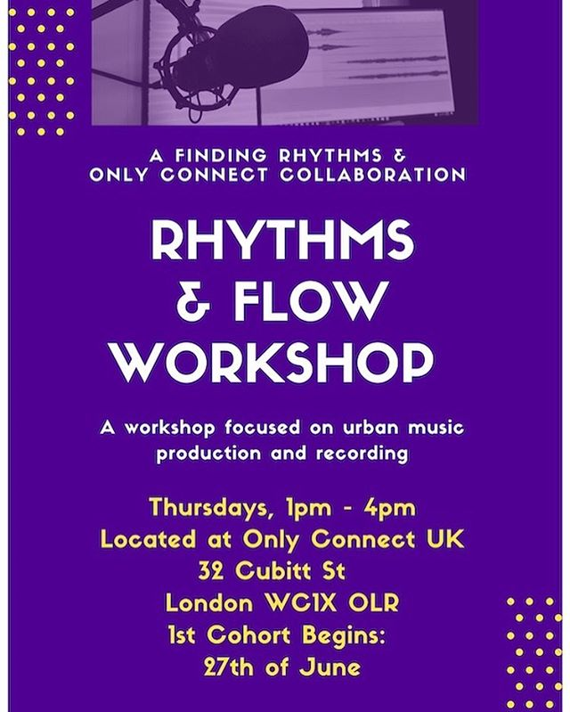 "We are extremely excited about our upcoming music workshop ""Rhythms & Flow."" For a referral or more information, please contact Tim @ timothy.titsworth@onlyconnectuk.org"