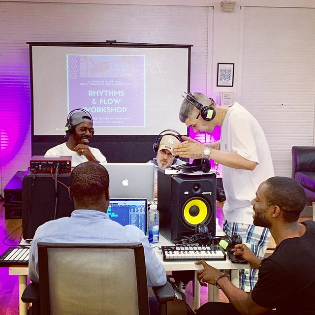 The Rhythms & Flow Workshop is off  and running! Truly amazing to see the energy in action. For more info: timothy.titsworth@onlyconnectuk.org