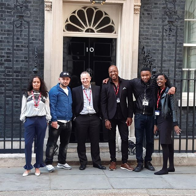 This week the Only Connect Charity and some of its members showcased their music in the State Rooms of Downing Street, to raise awareness around reducing youth violence #progress #reducingyouthviolence