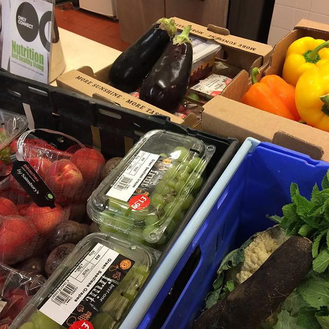 What shall we cook for lunch tomorrow? Inspiring food waste from @thefelixproject