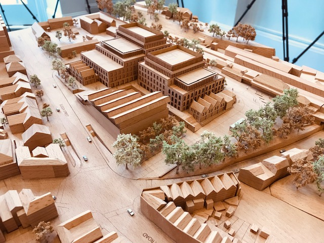 model of proposed station approach redevelopment Image: WCC