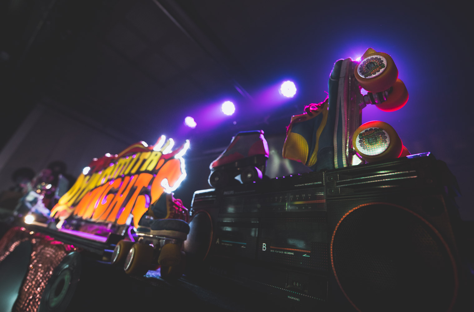 ROLLER DISCO - REPORTAGE LIVE