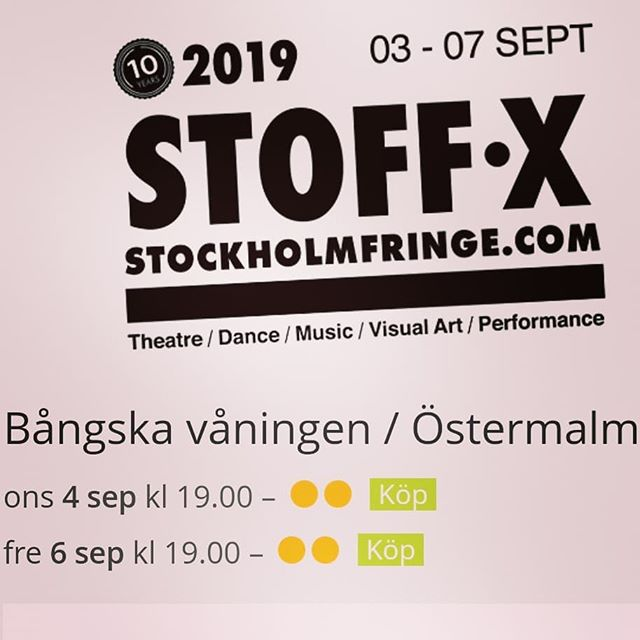 Experience the Orgyrobot at Stockholms performance festival Fringe! Tickets out 💦👅💦 link in bio!