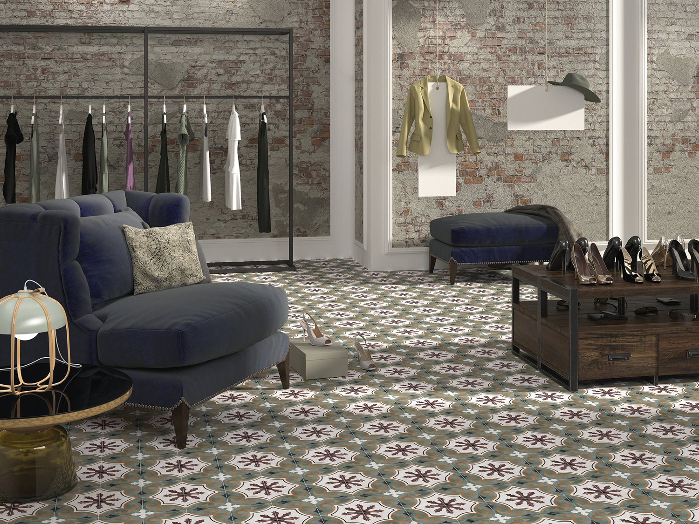 Floriane Olivia Patterned Tiles