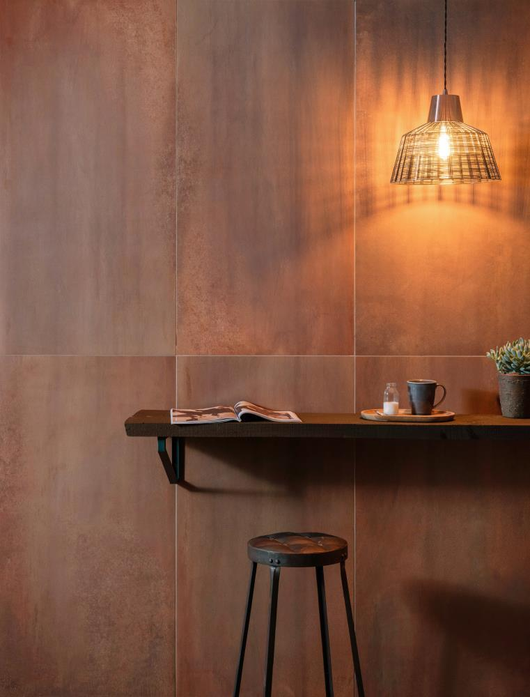 Copper Metallic Tiles
