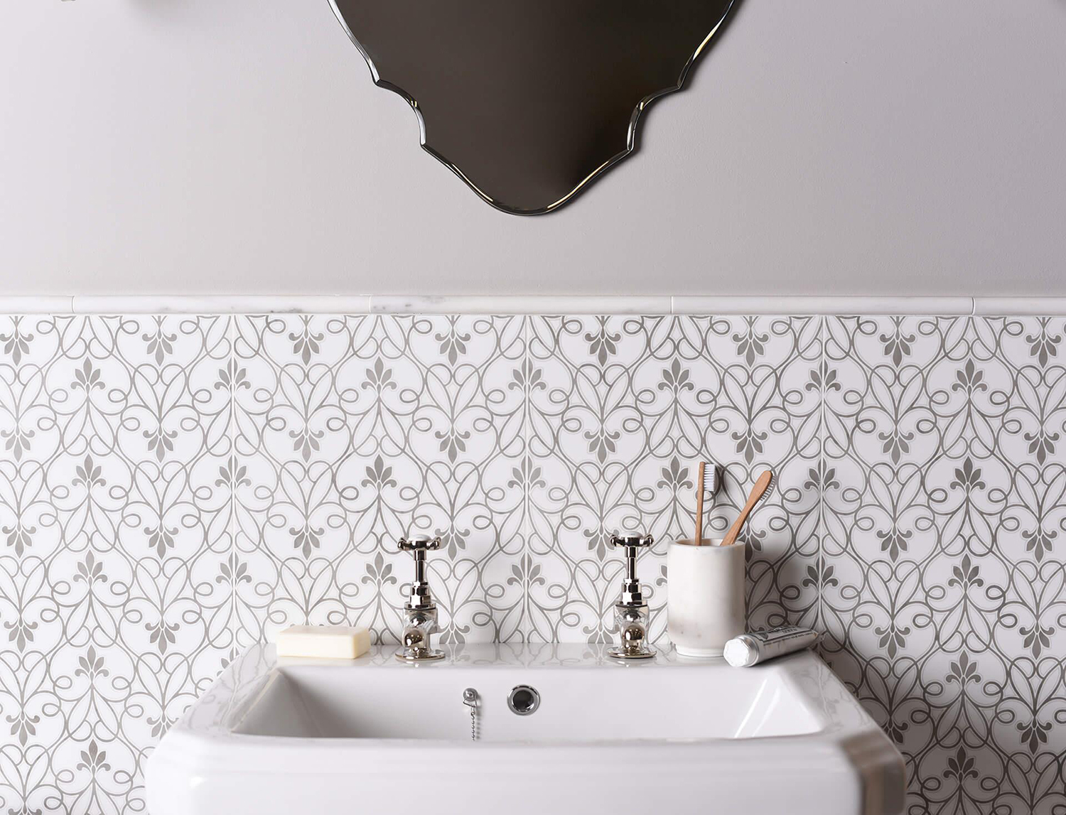 Patterned Ceramic Tiles