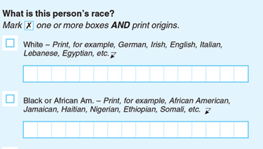 When you get your ballot, look for this question. - Mark your race then write in your ethnicity -  Adosa.  That's it.Now spread the word.