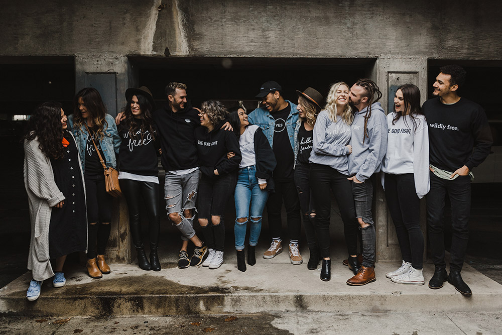 We are - a group of individuals who have given up the status quo and are on the journey to openly and honestly talk about healthy sexuality the way God designed it: shame-free, full, passionate, unhindered, protected, and life giving.