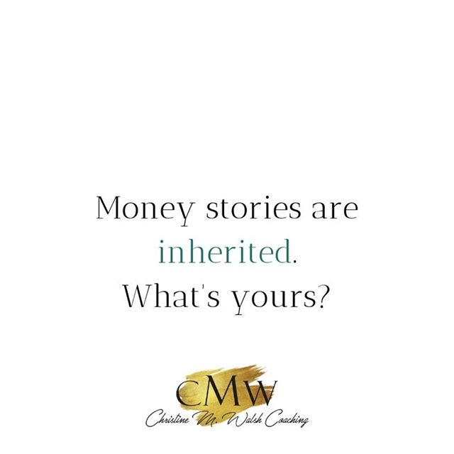 You've got to work hard for your money.  It takes money to make money.  Money doesn't grow on trees.  You can be rich or happy, not both.  Big money = big problems.  It's the root of all evil.  Any of these sound familiar?  Yes?  How's that working out for you?  #themoneyconversations #breakthepattern #money