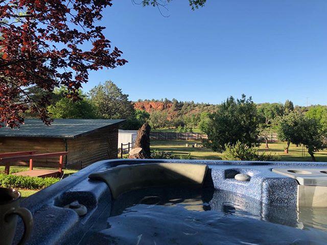Good morning Sedona. #retreat #sedona #meditationspot #goodmorning