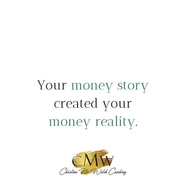 We are wired for story.  We are meaning-making machines which evolve as the stories we tell ourselves around money.  Your disempowering money story is driving your reality. That is how powerful stories are.  What if you gave yourself the opportunity to powerfully stand up for yourself around money, what might you do from that space?  #themoneyconversations #moneymatters #yourmoney #moneyqueen