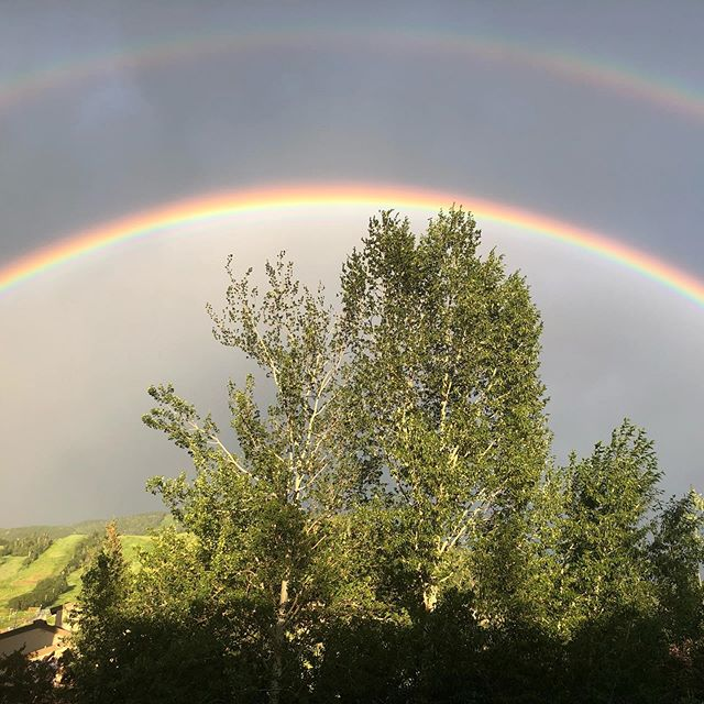 It's a magical place... #nofilter #potofgold #steamboat #summer