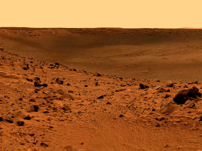 ROCKY SURFACE OF THE PLANET