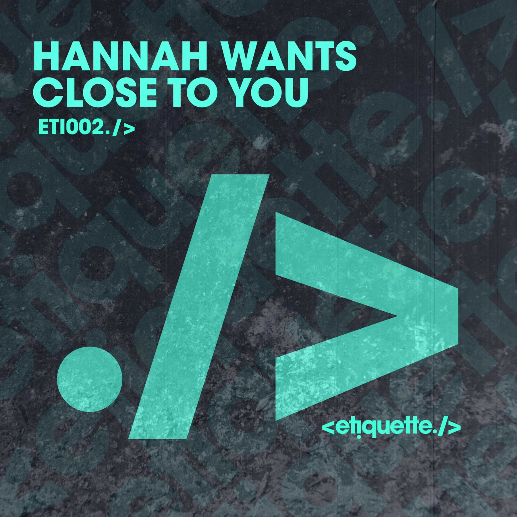 - An essential beat in her sets for the past two months Hannah Wants' Close To You is OUT NOT!Buy / Stream link:https://etiquette.lnk.to/CloseToYouEP