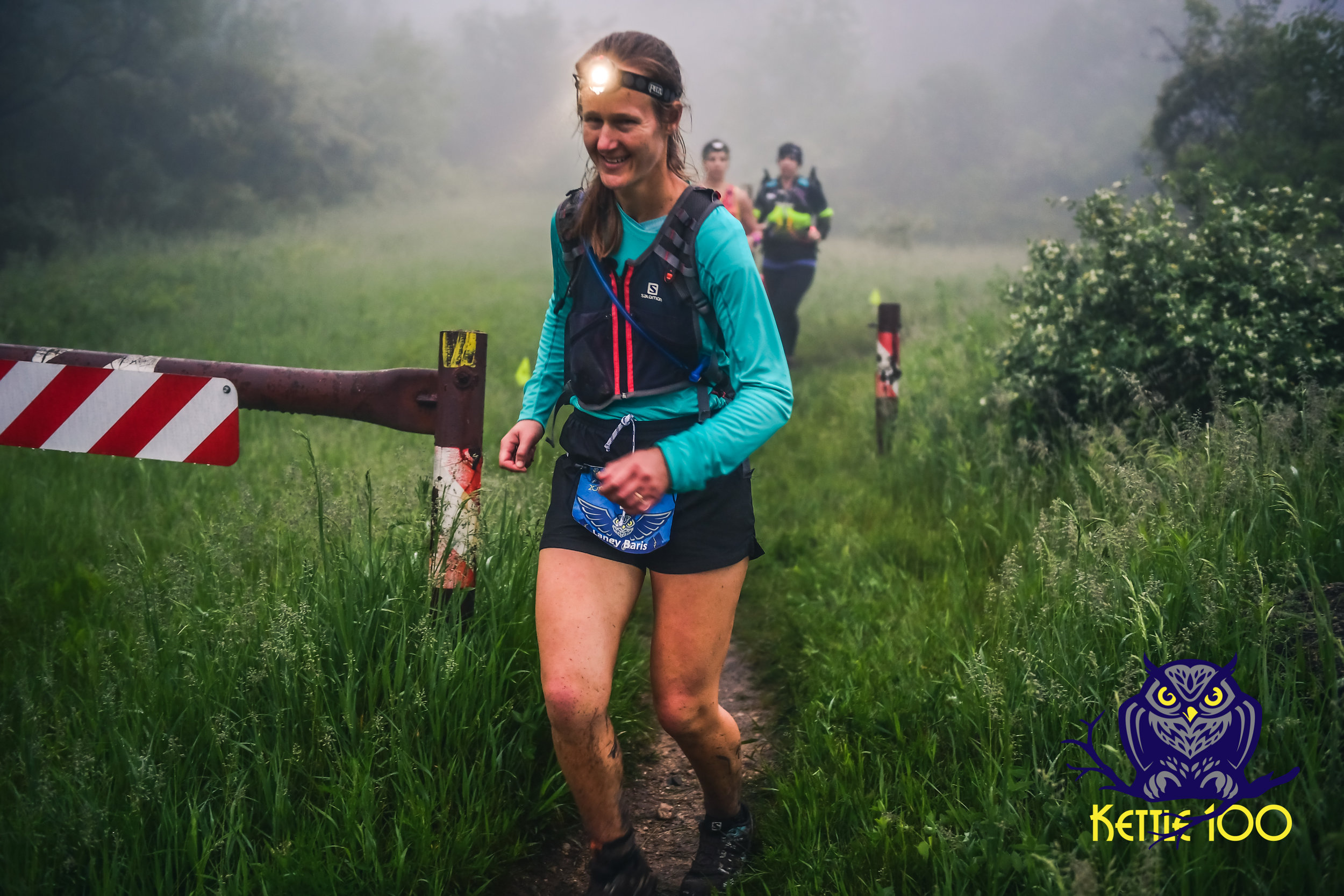 Laney Baris- 100 mile finisher from New Jersey. Finish time: 28:08:57