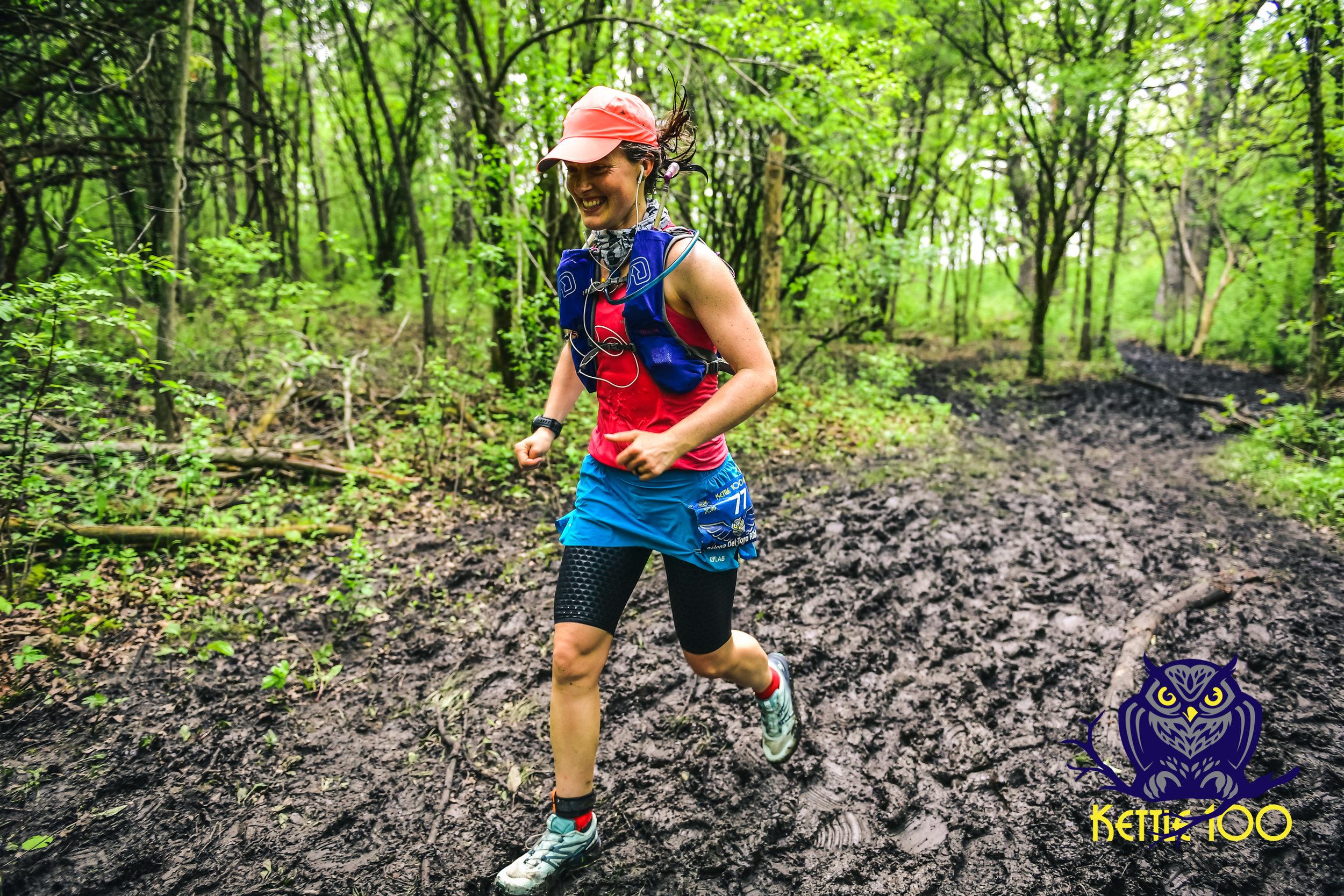 Relena Del Toro Ribbons from Wisconsin- 100 mile finisher: 27:04:40