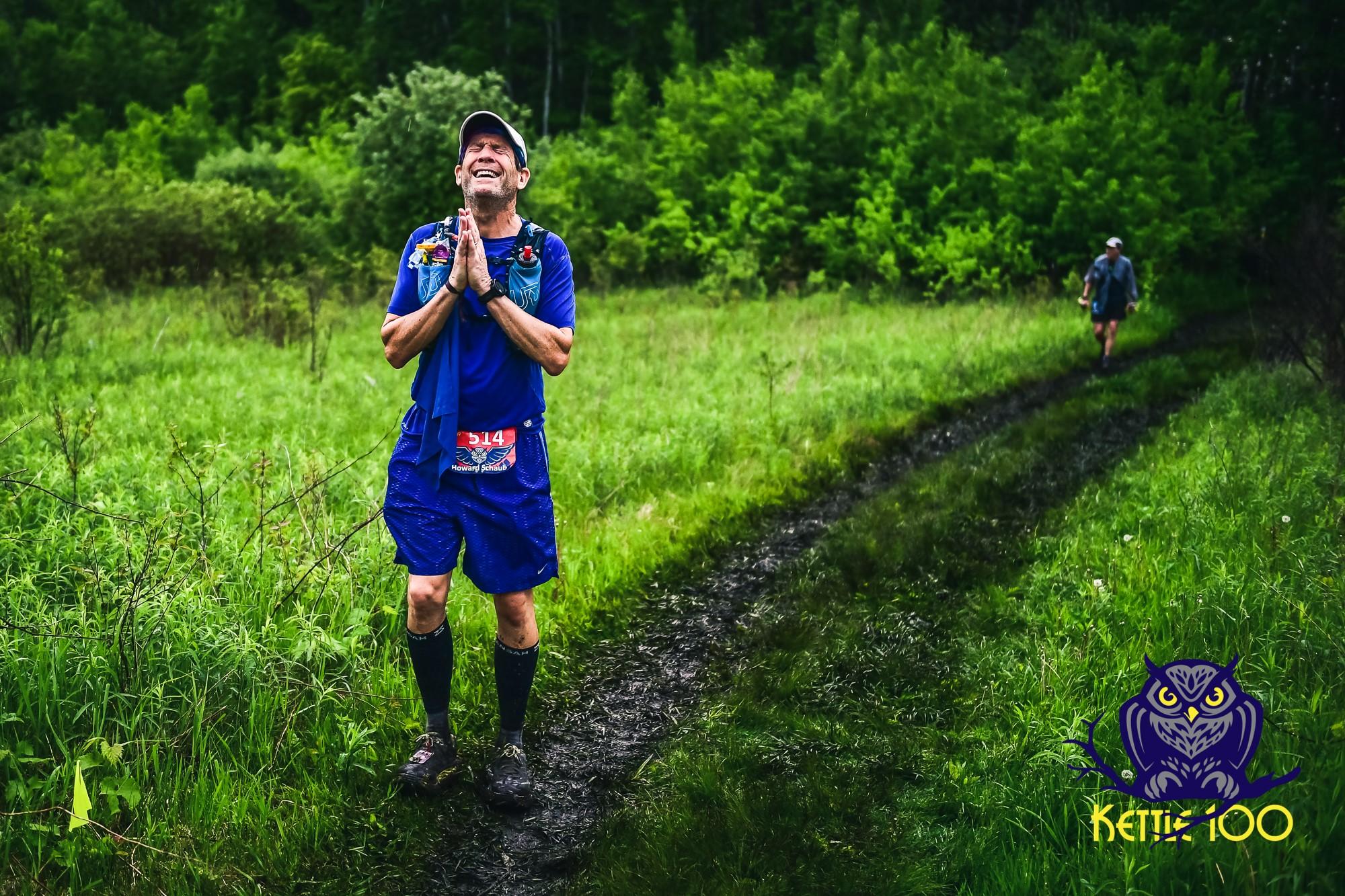 Thank you!    100k finisher Howard Schaub from Ashevelle, North Carolina: 15:39:47