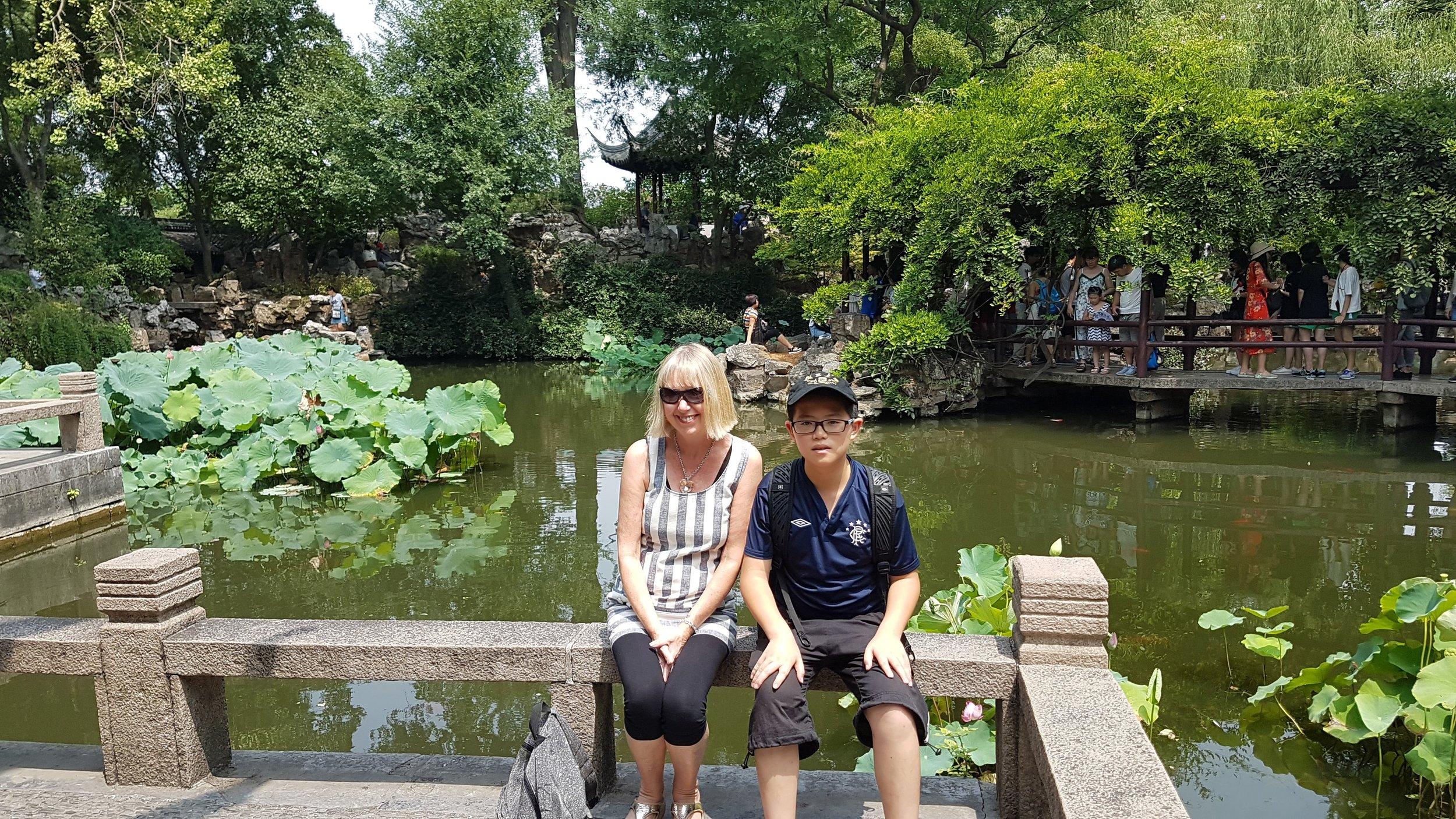 Shanghai Gardens with Paul