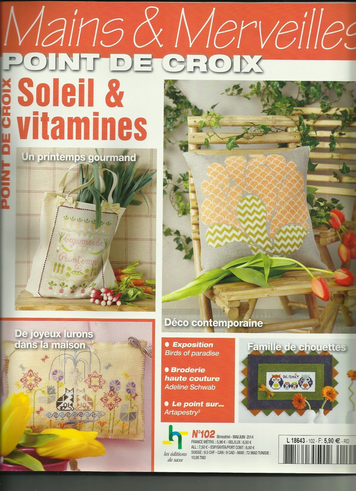 Mains & Merveilles - Article de magasine, 6 pages