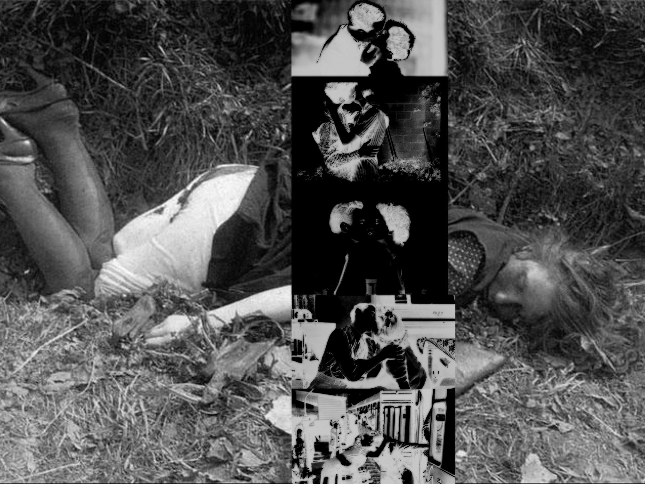 'The Ripper Narrative (A Kiss)' (assorted c-prints) (2019)