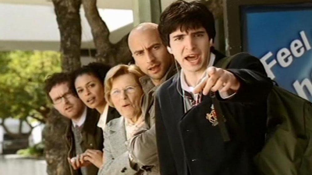 Bran Flakes 'Bus Stop'