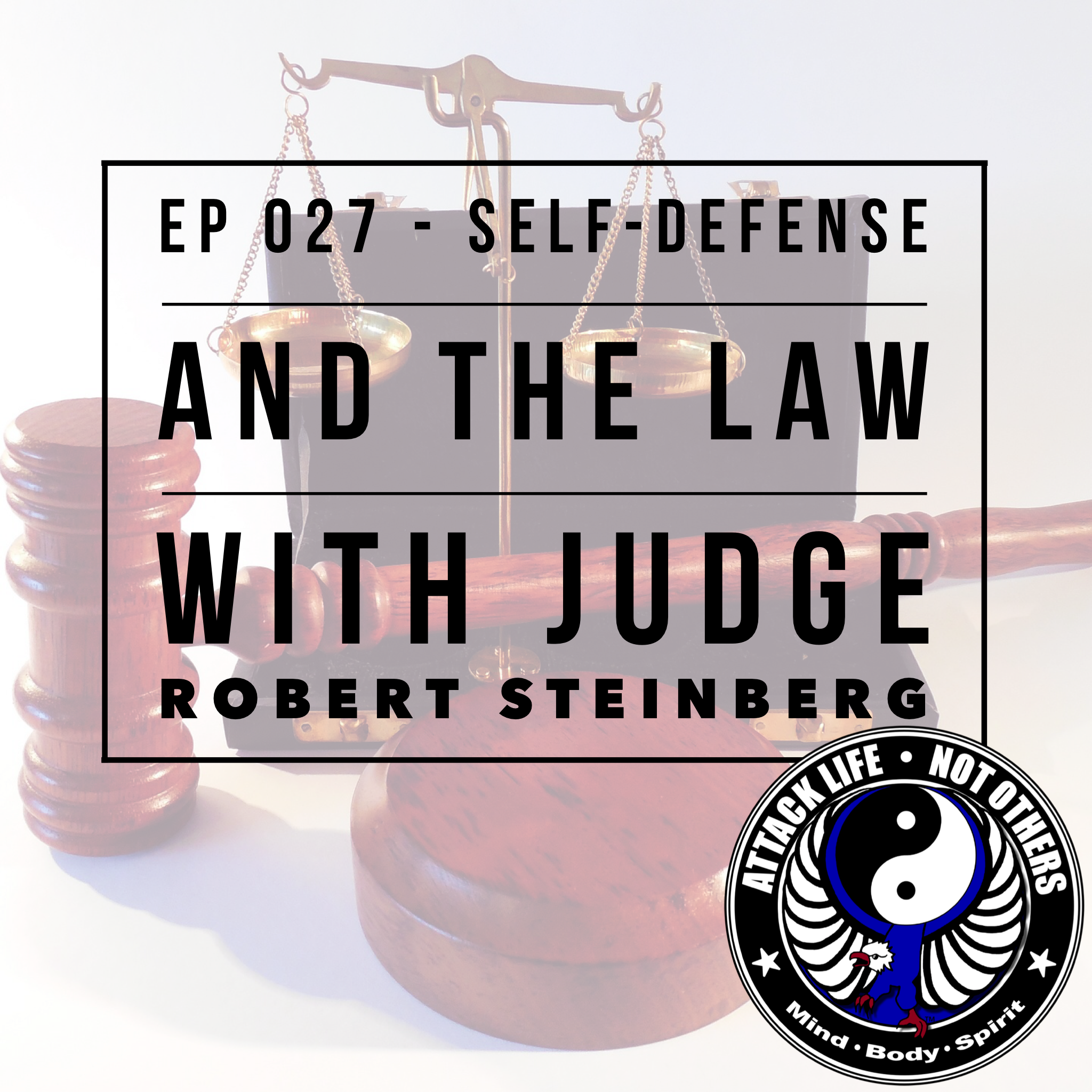 Ep 027 - Self-Defense and The Law with Judge Robert Steinberg