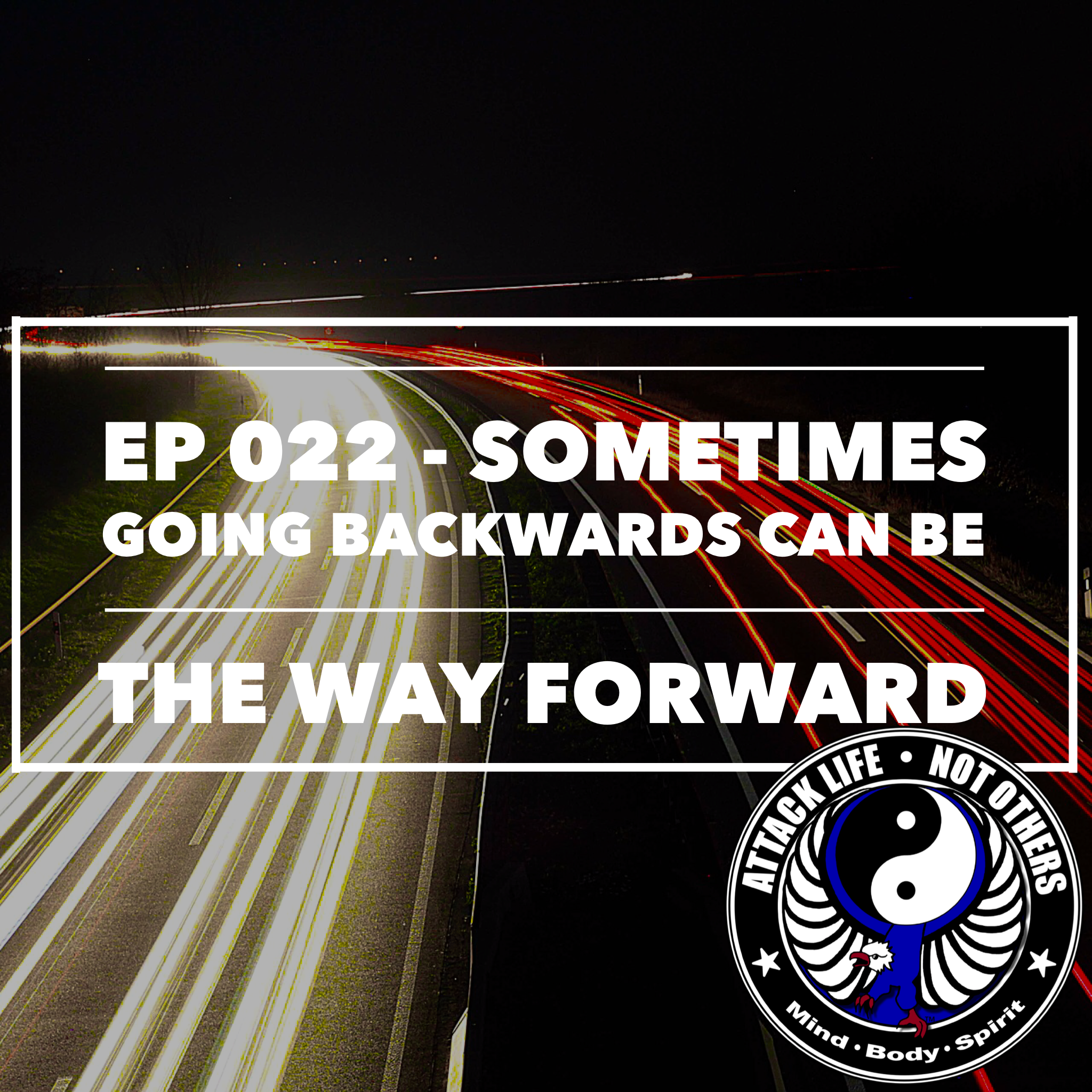 Ep 022 - Sometimes Going Backwards Can Be the Way Forward