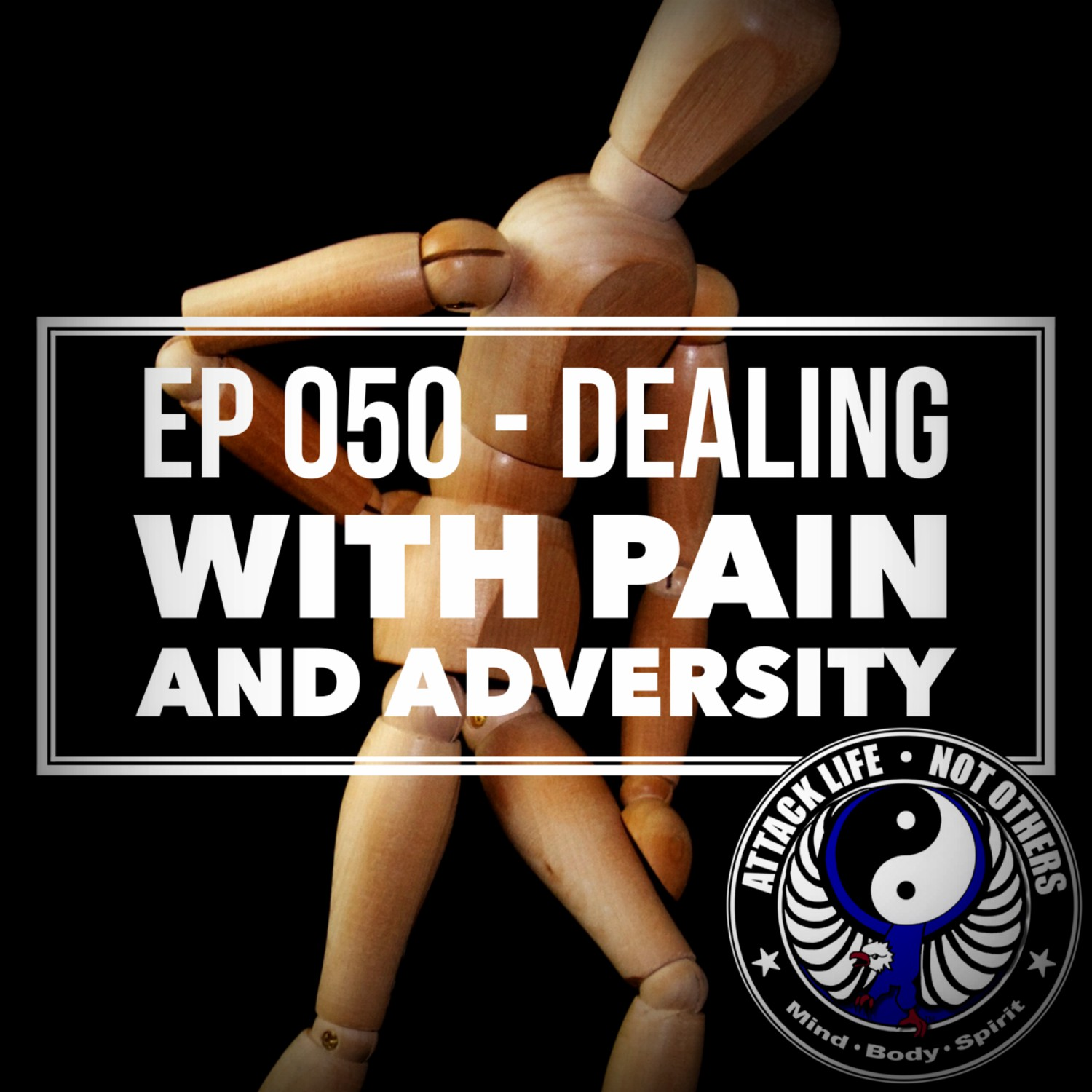 Hoover Karate podcast, Tim Hoover, Steve Mittman, dealing with pain and anxiety