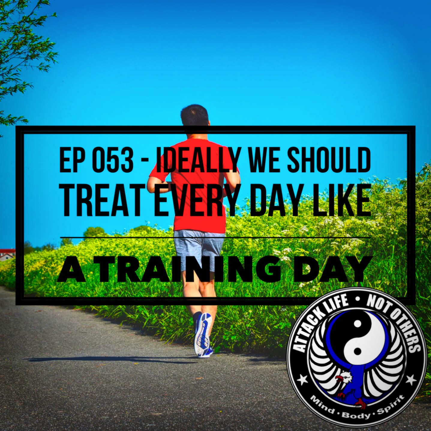 Ep 053 - Ideally We Should Treat Every Day Like a Training Day